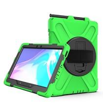 Samsung Galaxy Tab Active Pro Cover - Hand Strap Armor Case - Groen