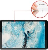 Case2go Lenovo Tab M8 FHD (2de generatie) Screenprotector - Gehard Glas - Transparant