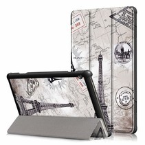 Lenovo Tab M10 hoes - Tri-Fold Book Case (TB-X505) - Eiffeltoren