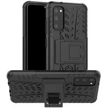 Samsung Galaxy S20 Hoesje - Schokbestendige Back Cover - Zwart