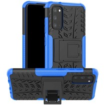 Samsung Galaxy S20 Hoesje - Schokbestendige Back Cover - Blauw