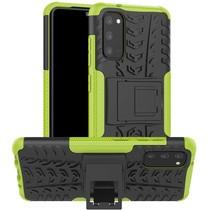 Samsung Galaxy S20 Hoesje - Schokbestendige Back Cover - Groen