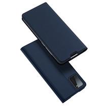 Samsung Galaxy A41 hoesje - Dux Ducis Skin Pro Book Case - Donker Blauw