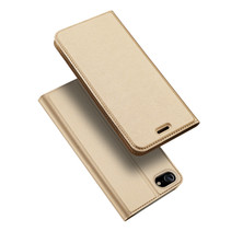 iPhone SE 2020 hoesje - Dux Ducis Skin Pro Book Case - Goud
