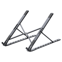 Universele Verstelbare Aluminium Laptop standaard - 11.6 tot 15.4 inch - Zwart