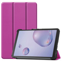 Samsung Galaxy Tab A 8.4 (2020) hoes - Tri-Fold Book Case - Paars