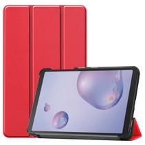 Samsung Galaxy Tab A 8.4 (2020) hoes - Tri-Fold Book Case - Rood