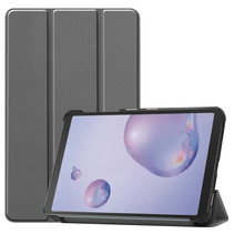 Samsung Galaxy Tab A 8.4 (2020) hoes - Tri-Fold Book Case - Grijs
