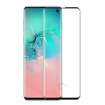 Samsung Galaxy S10 - Full Cover Screenprotector - Gehard Glas - Zwart