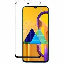 Samsung Galaxy A31 - Full Cover Screenprotector - Gehard Glas - Zwart