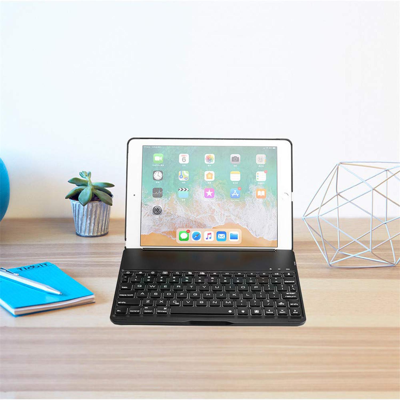 iPad 9.7 (20172018) case Bluetooth Toetsenbord hoes Zwart