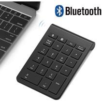 Draadloze Numpad - Draadloos Numeriek Toetsenbord - 22 toetsen - Bluetooth - Zwart