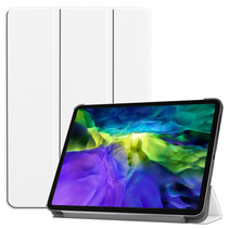 iPad Pro 11 (2020) hoes - Tri-Fold Book Case - Wit