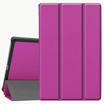 Lenovo Tab M10 Plus hoes  - Tri-Fold Book Case (TB-X606) - Paars