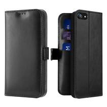 iPhone SE 2020 hoesje - Dux Ducis Kado Wallet Case - Zwart