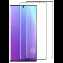 Samsung Galaxy Note 10 Plus - Full Cover Screenprotector Folie - Zwart