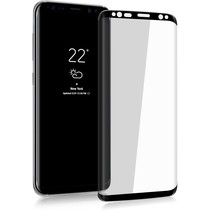 Samsung Galaxy S9 Plus - Full Cover Screenprotector Folie - Zwart