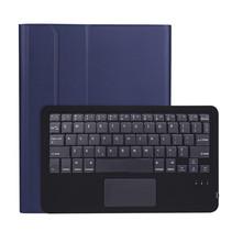 iPad Pro 11 (2020) case - Bluetooth Toetsenbord hoes - Toetsenbord hoes met Touchpad - Blauw