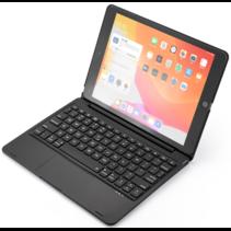 iPad 10.2 2019 / 2020 case - Bluetooth Toetsenbord hoes - met Touchpad - Zwart
