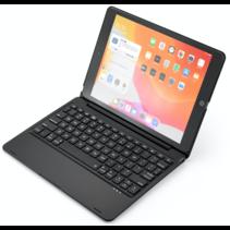 iPad 10.2 inch Case - Bluetooth toetsenbord hoes - QWERTY layout - Magneetsluiting - Sleep/Wake-up functie - Zwart