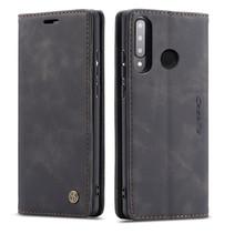CaseMe - Huawei P30 Lite hoesje - Wallet Book Case - Magneetsluiting - Zwart