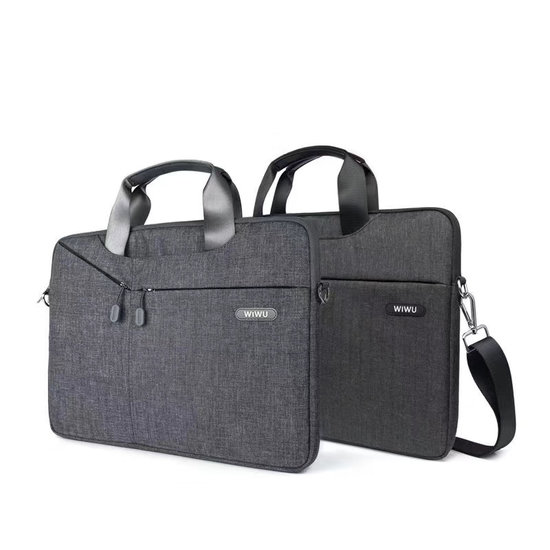 WIWU Asus ChromeBook - 11.6 inch Laptoptas City Commuter Bag - Zwart