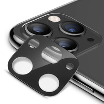 iPhone 11 Pro / iPhone 11 Pro Max - Full Cover Camera lens screenprotector - Gehard Glas - Tempered Glass - Zwart