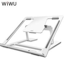 WiWU - Universele Aluminium Laptop standaard - 11.6 tot 15.6 inch - Zilver