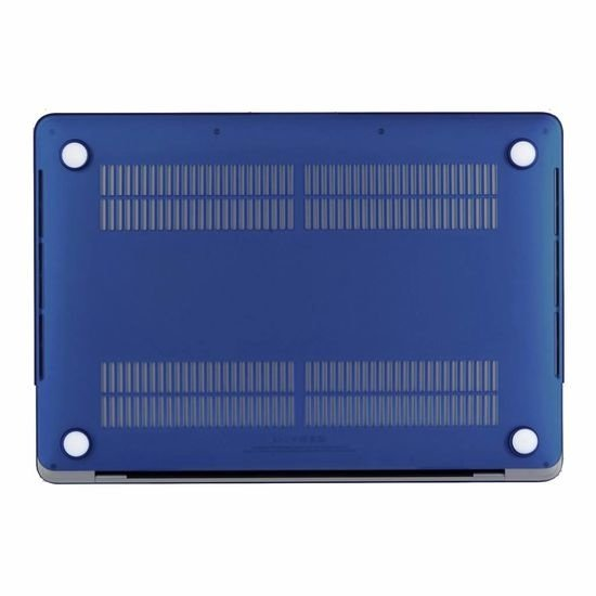 Case2go Macbook Pro 13 inch (2020) Hoes - Clip-On Hard Case - Donker Blauw