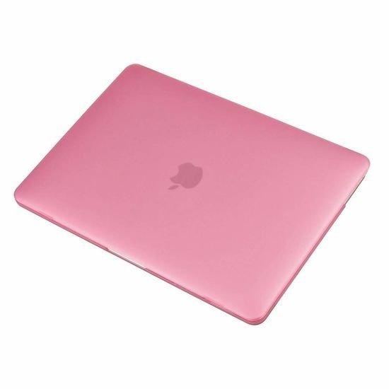 Case2go Macbook Pro 13 inch (2020) Hoes - Clip-On Hard Case - Roze