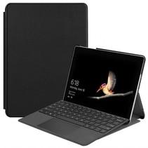 Microsoft Surface Go 2 hoes - Tri-Fold Book Case - Zwart