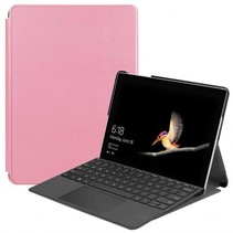 Microsoft Surface Go 2 hoes - Tri-Fold Book Case - Roze