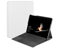 Microsoft Surface Go 2 hoes - Tri-Fold Book Case - Wit