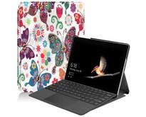 Microsoft Surface Go 2 hoes - Tri-Fold Book Case - Vlinder