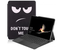 Microsoft Surface Go 2 hoes - Tri-Fold Book Case - Don't Touch Me