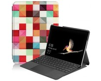 Microsoft Surface Go 2 hoes - Tri-Fold Book Case - Blocks