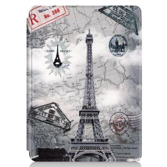 Case2go Microsoft Surface Go 2 hoes - Tri-Fold Book Case - Eiffeltoren