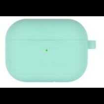 Goospery - Airpods Pro Case - Siliconen beschermhoes met opdruk  - Turquoise