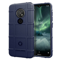 Nokia 7.2 hoes - Heavy Armor TPU Bumper - Donker Blauw