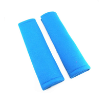 Gordelbeschermer - Gordelhoes / Gordelkussen voor Autogordel - Auto Accessoires - 2 stuks - Blauw