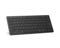Draadloos Toetsenbord - Wireless Keyboard - Bluetooth - Zwart