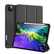 iPad Pro 11 (2020) hoes - Dux Ducis Domo Lite Book Case met stylus pen houder - Zwart