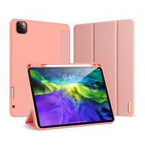 iPad Pro 11 (2020) hoes - Dux Ducis Domo Lite Book Case met stylus pen houder - Roze