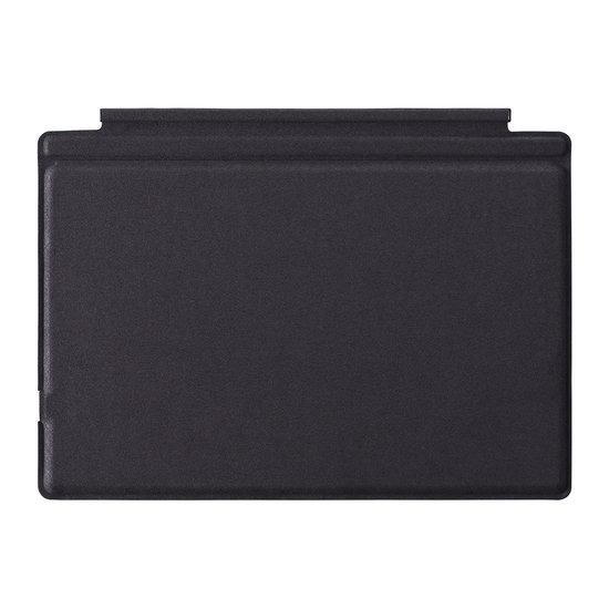 Case2go Microsoft Surface Pro 3/4/5/6/7 - Bluetooth Toetsenbord Cover - QWERTY - Met touchpad en toetsenbord verlichting - Zwart