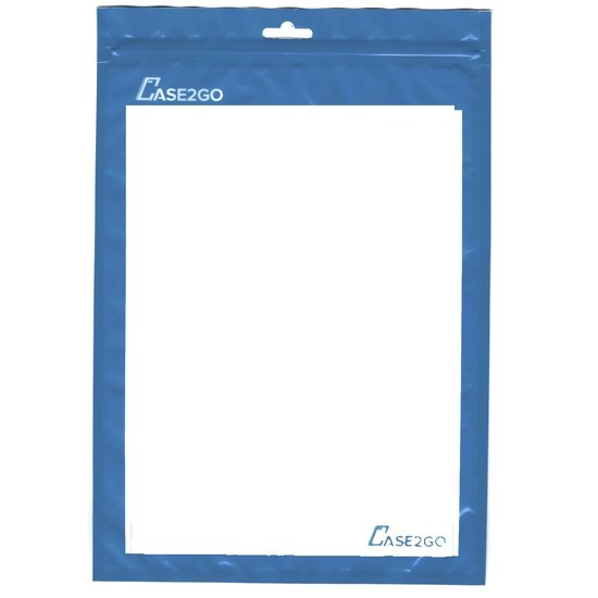 Case2go Universeel Bluetooth Toetsenbord - Opvouwbaar Bluetooth Keyboard - Zilver