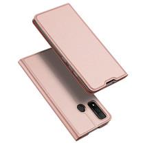 Huawei P Smart 2020 hoesje - Dux Ducis Skin Pro Book Case - Roze