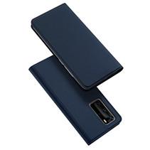 Huawei P40 Pro hoesje - Dux Ducis Skin Pro Book Case - Donker Blauw