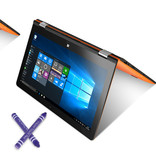 Case2go Kids Stylus Pen - Stylus pen voor kinderen - Soft Touch - Smartphone & Tablet pen - Zwart