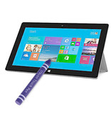 Case2go Kids Stylus Pen - Stylus pen voor kinderen - Soft Touch - Smartphone & Tablet pen - Paars