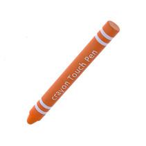 Kids Stylus Pen - Stylus pen voor kinderen - Soft Touch - Smartphone & Tablet pen - Oranje